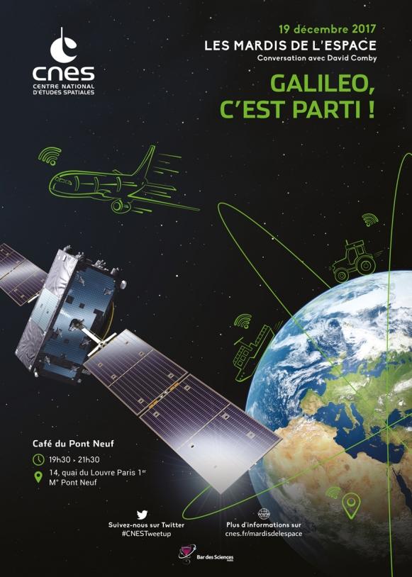 Mardis de l'Espace : 19 Décembre 2017 - Galileo, c'est parti !